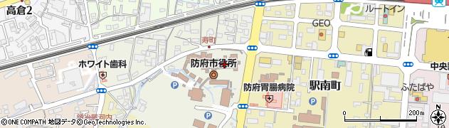 山口県防府市周辺の地図