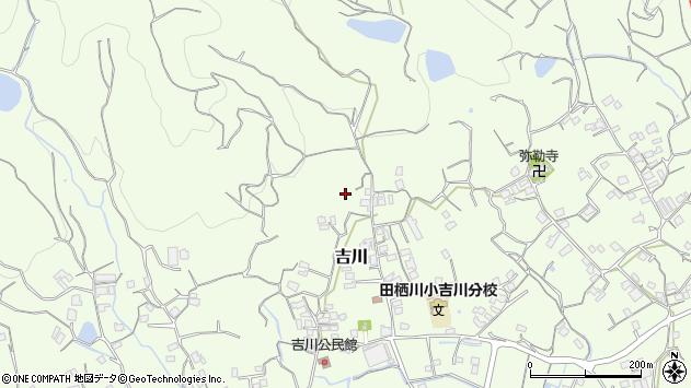 〒643-0007 和歌山県有田郡湯浅町吉川の地図