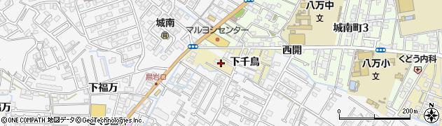 徳島県徳島市南二軒屋町周辺の地図