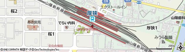 山口県山陽小野田市周辺の地図