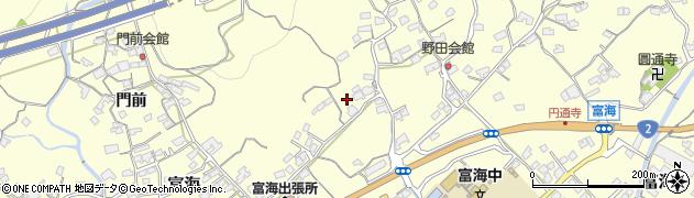 山口県防府市富海(野田)周辺の地図