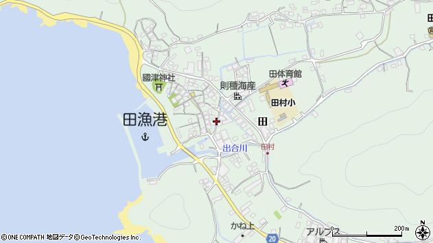 〒643-0006 和歌山県有田郡湯浅町田の地図