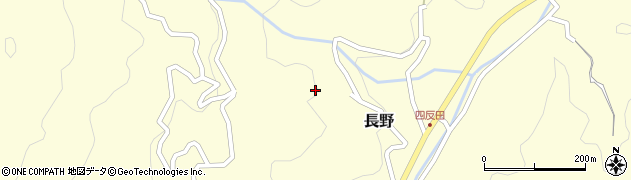 山口県岩国市長野842周辺の地図