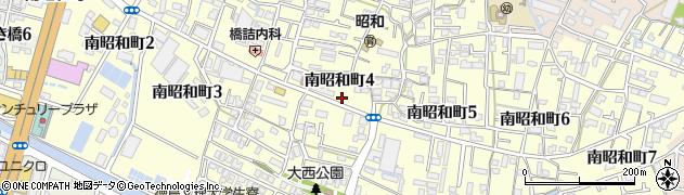 徳島県徳島市南昭和町周辺の地図