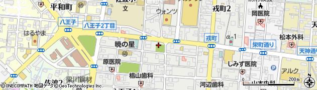 恵比須神社周辺の地図