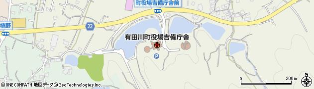 和歌山県有田郡有田川町周辺の地図