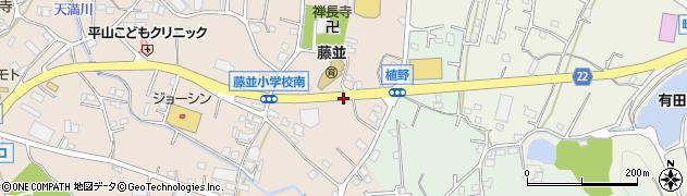 和歌山県有田郡有田川町土生周辺の地図