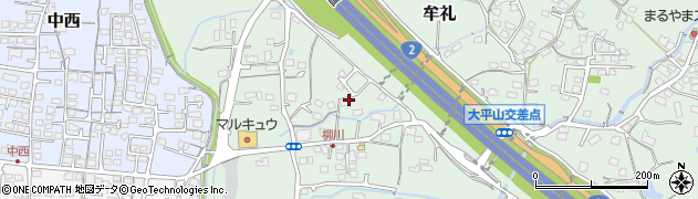 山口県防府市牟礼周辺の地図
