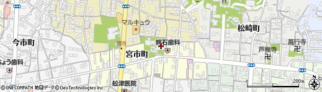 定念寺周辺の地図