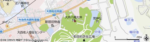 大井八幡大神社周辺の地図