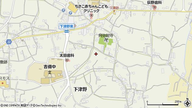 〒643-0021 和歌山県有田郡有田川町下津野の地図