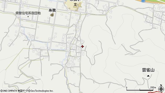 〒649-0421 和歌山県有田市糸我町中番の地図