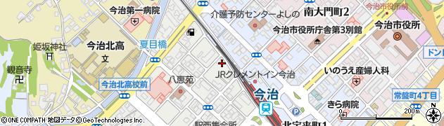 不動山定善寺周辺の地図