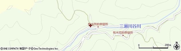 和歌山県有田郡有田川町三瀬川35周辺の地図