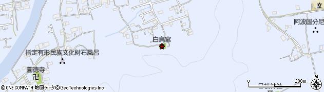 白鳥神社周辺の地図