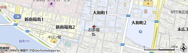 戎神社周辺の地図