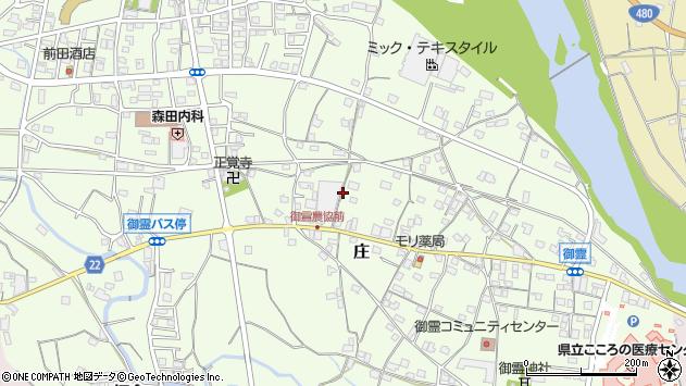 〒643-0811 和歌山県有田郡有田川町庄の地図