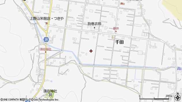 〒649-0313 和歌山県有田市千田の地図