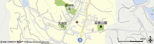 愛媛県今治市延喜周辺の地図