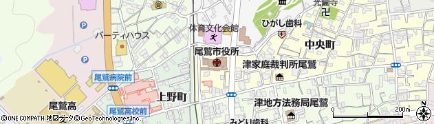 三重県尾鷲市周辺の地図