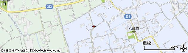 徳島県石井町(名西郡)石井(重松)周辺の地図