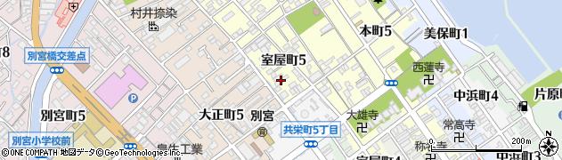 美保院周辺の地図