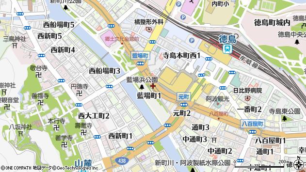 徳島県徳島市藍場町 郵便番号 〒770-0835:マピオン郵便番号