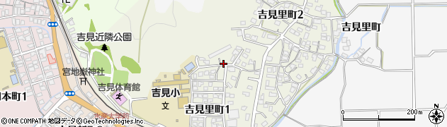 山口県下関市吉見里町周辺の地図