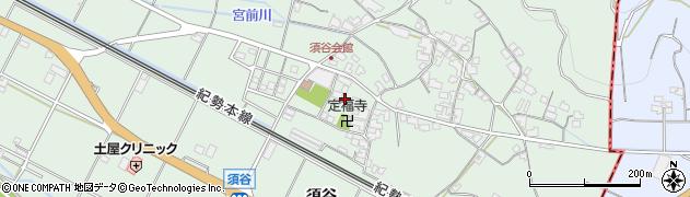 和歌山県有田市宮原町須谷周辺の地図