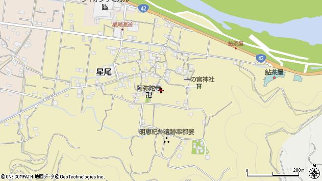 〒649-0312 和歌山県有田市星尾の地図