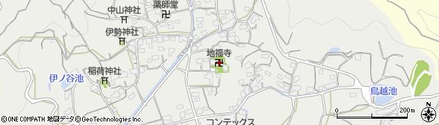 地福寺周辺の地図
