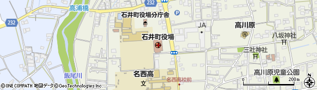 徳島県名西郡石井町周辺の地図