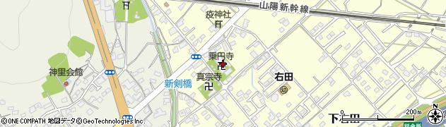 乗円寺周辺の地図