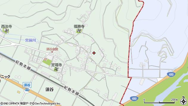 〒649-0433 和歌山県有田市宮原町須谷の地図
