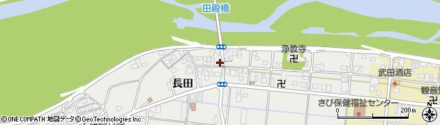 和歌山県有田郡有田川町長田周辺の地図