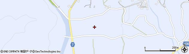 山口県岩国市周東町上久原(東午王ノ内)周辺の地図
