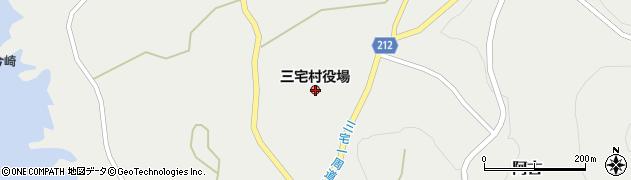 東京都三宅島三宅村周辺の地図