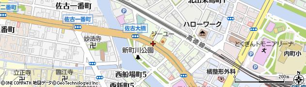 徳島県徳島市南出来島町の地図 住所一覧検索|地図マピオン