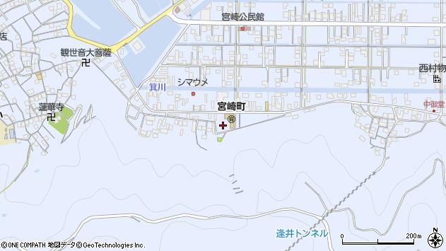 〒649-0316 和歌山県有田市宮崎町の地図