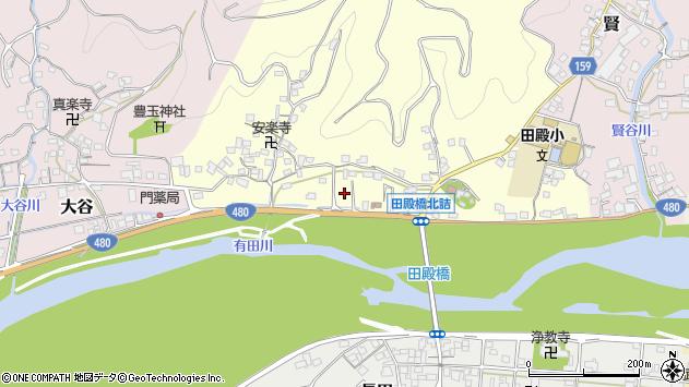 〒643-0844 和歌山県有田郡有田川町井口の地図