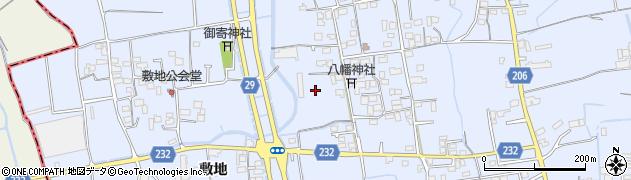徳島県徳島市国府町(池尻)周辺の地図
