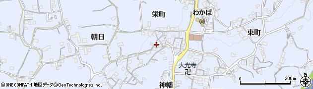山口県岩国市周東町上久原(栄町)周辺の地図