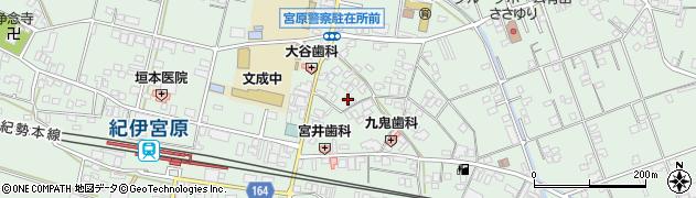 和歌山県有田市宮原町新町周辺の地図