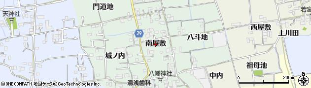徳島県徳島市国府町井戸(南屋敷)周辺の地図