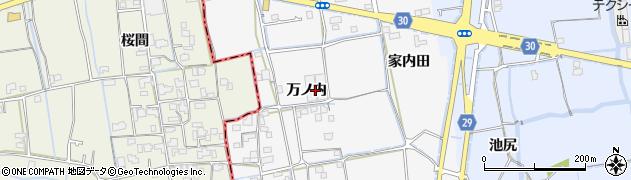 徳島県徳島市国府町桜間周辺の地図