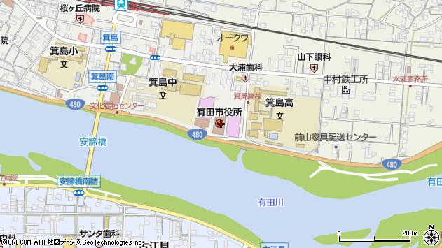 〒649-0300 和歌山県有田市(以下に掲載がない場合)の地図