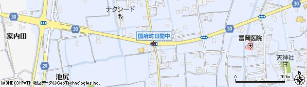 国府町日開中周辺の地図