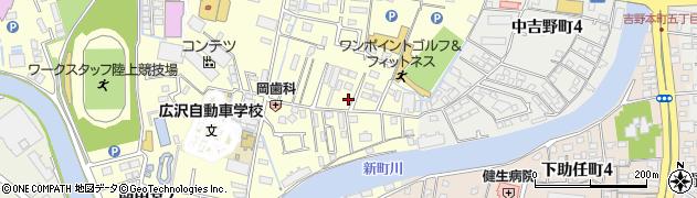 徳島県徳島市南田宮1丁目周辺の地図
