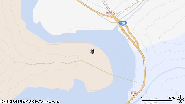 〒637-1105 奈良県吉野郡十津川村林の地図