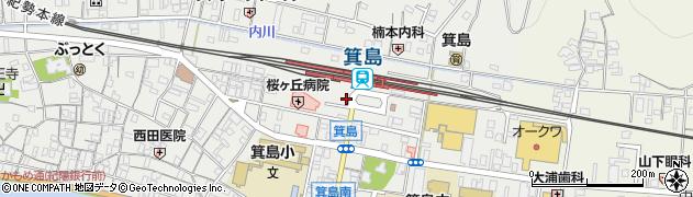 有田交通株式会社箕島営業所周辺の地図